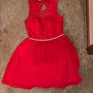 Red dress only worn once
